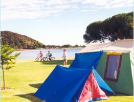 Big4 campsite in Narooma, NSW, Australia