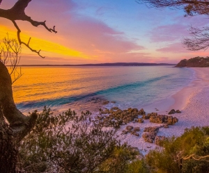 Chinamans Beach, Jervis Bay, NSW, Australia