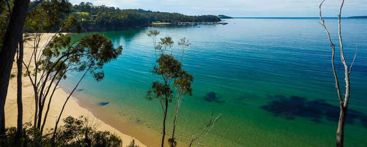 Best beach camping NSW, Australia. Eden. Photo: Sapphire Sun Eco Holiday Village