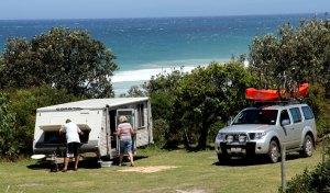 Gillards campsite, Mimosa Rocks National Park, NSW, Australia