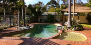 Pool at Shady Gully Caravan Park