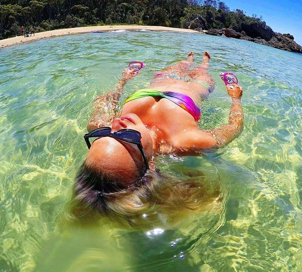 Best beach camping NSW, Australia. Mystery Bay. Photo: KarstanAndMaxine