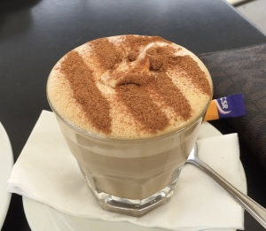 Chai tea latte, Narooma, NSW. Photo: AgnesMPepper