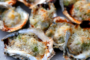 oysters and cheese