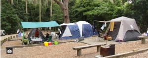 pebbly beach campground