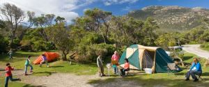 Tidal River Campground, Wilsons Promontory, VIC, Australia