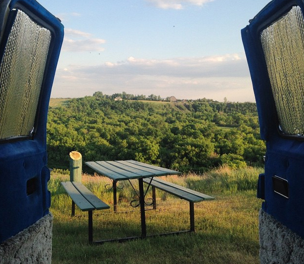 A table with a view, please. Photo: EternalRevolver