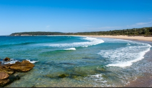 Termeil Termeil Beach near Point Campground. Photo: National Parks and Wildlife NSW.