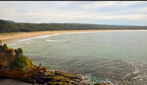Meroo Head Lookout walking trail. Photo: National Parks and Wildlife NSW.