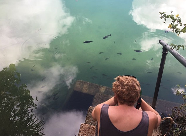 How did fish get into Lake Eachem? Photo: BessMurph