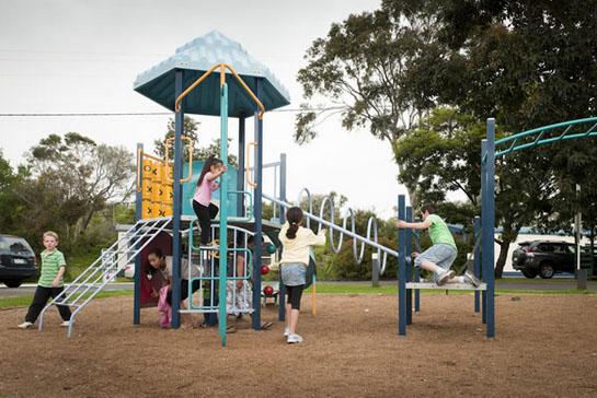 Big4 Phillip Island Caravan Park playground
