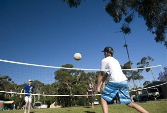 Big4 Phillip Island Caravan Park volley ball