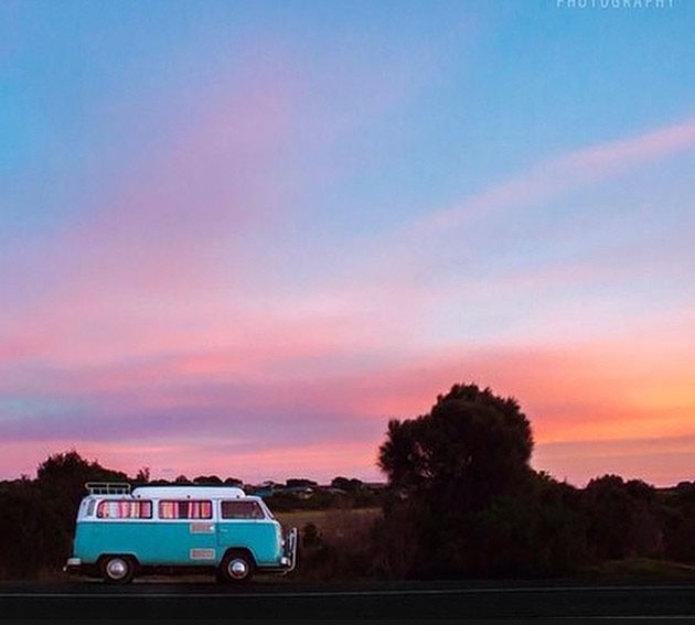 The van life. Phillip Island, Victoria, Australia. Photo: Chloe Smith Photography