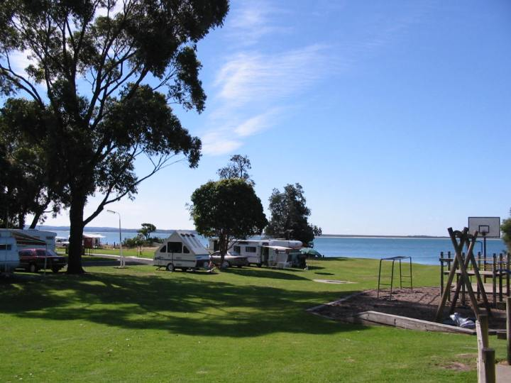 Cowes Caravan Park, Phillip Island, Victoria, Australia