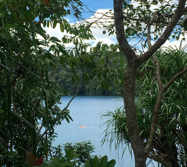 Lake Eachem near Cairns. Photo:DanielleAKABillie