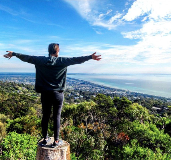 Franklin's Lookout, Arthur's Seat State Park, Mornington Peninsula, Victoria, Australia