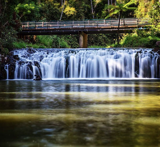 Malanda Falls swimming hole on the Atherton Tablelands near Cairns, Australia. Photo:  MattPetersOz