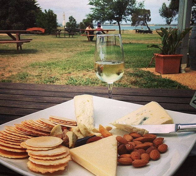 Purple Hen Winery, Phillip Island, Victoria, Australia. Photo: KymmiePoole