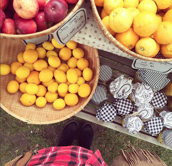 Somer's winter market. Mornington Peninsula, Victoria, Australia. Photo: RebeccaWinther