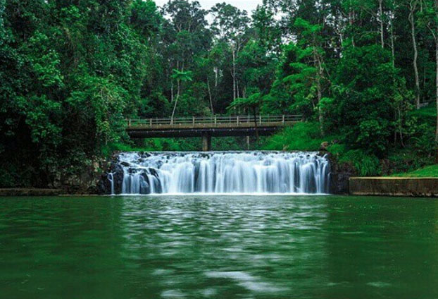 Malanda Falls swimming hole on the Atherton Tablelands near Cairns, Australia. Photo:  Tiffonee_Wallis