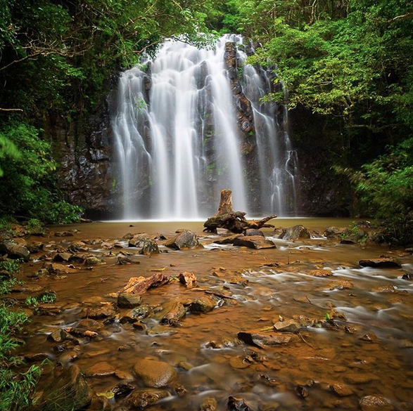 Ellinjaa Falls, Queensland, Australia. Photo: CamBlakePhotography