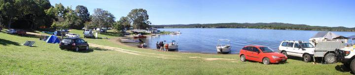 Camping at Lake Tinaroo on the Atherton Tablelands, Queensland, Australia. Photo: TwoDutchies.com