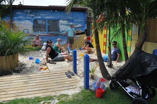 Sand pit at Kangerong Big 4 Holiday Park