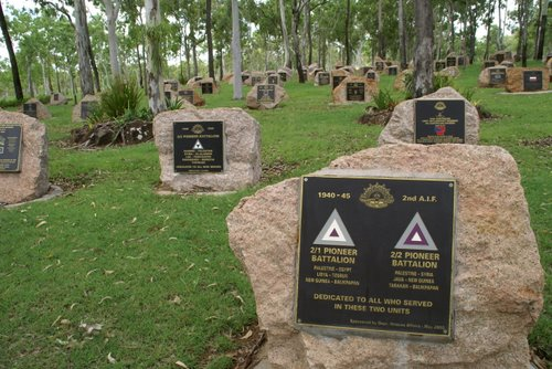 War Memorial beside Rocky Creek rest area, Queensland Australia. Photo: Peter and Shelley
