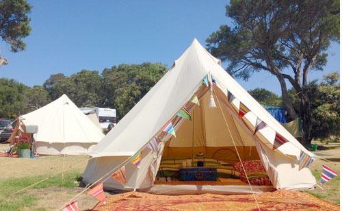 Stringer Camp Ground, Mornington Peninsula. Photo: Whitecliffs.com.au