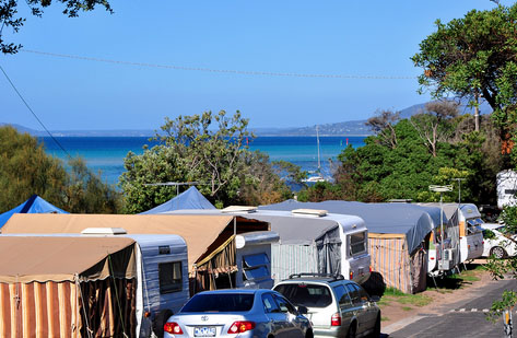 Tyrone Camp Ground, Mornington Peninsula. Photo: Whitecliffs.com.au