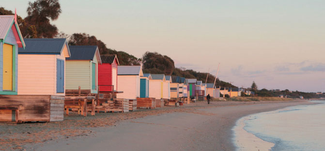 The foreshore near Tyrone Camp Ground, Mornington Peninsula. Photo: Whitecliffs.com.au