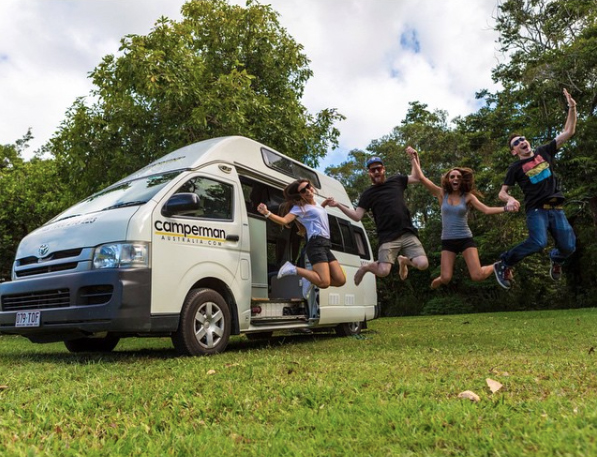 Let the adventure begin! Photo: Camperman Australia