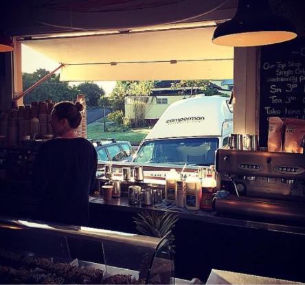 Coffee break at Byron Bay. Photo: www.CampermanAustralia.com.au