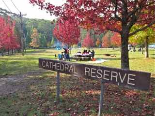 Cathedral Reserve Campground: Free Camping Blue Mountains. Photo: Weekendnotes