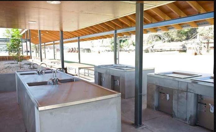 Cockatoo Island Kitchen Facilities