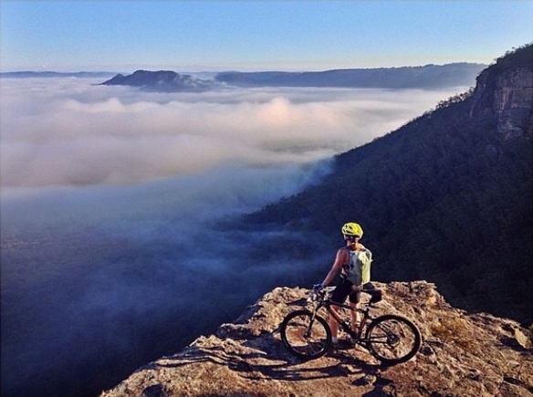 Mountain biking the Blue Mountains, Australia. Photo: FootlooseFotography