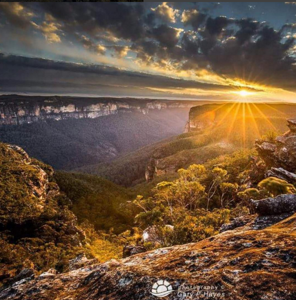 Grose Valley, Blue Mountains, Australia. Photo: Gary P Hayes