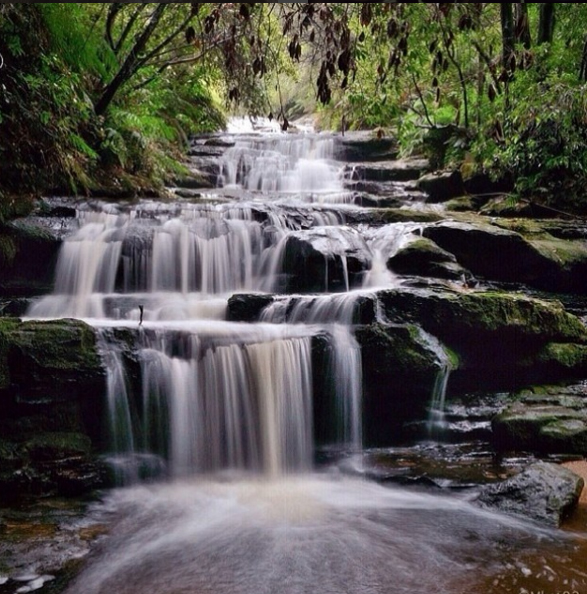 Leura Cascades, Blue Mountains, Australia. Photo: MKet82