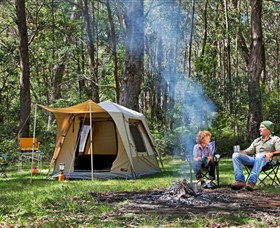 Old Ford Reserve: Free Camping, Blue Mountains on Megalong Road in Megalong Valley.