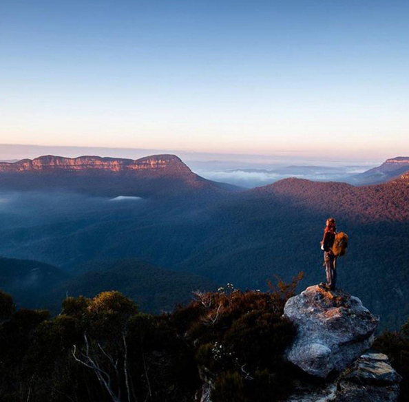 Blue Mountains, Australia. Photo: OnTheRope_Photo