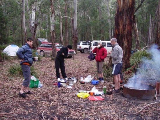 Batsh Campground, Blue Mountains. Free camping