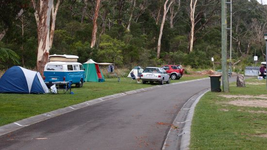 Blackheath Glen Tourist Park. Camping Blue Mountains