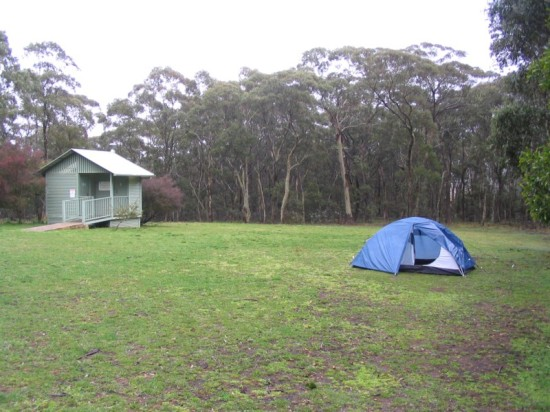 Black Range Campsite. Free camping in the Blue Mountains.