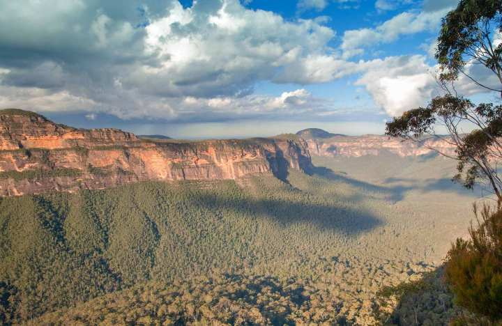 Perrys Lookdown campground. Free camping: Blue Mountains National Park