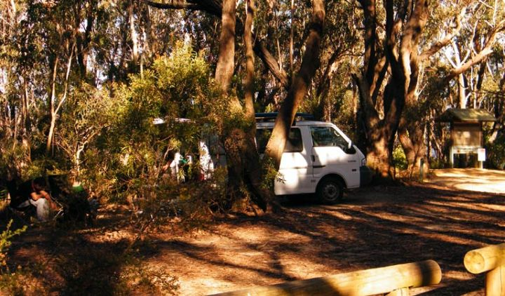 Perrys Lookdown Campground. Free camping Blue Mountains