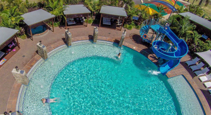 Big4 gold coast holiday park little green nomad - Victoria park swimming pool price ...