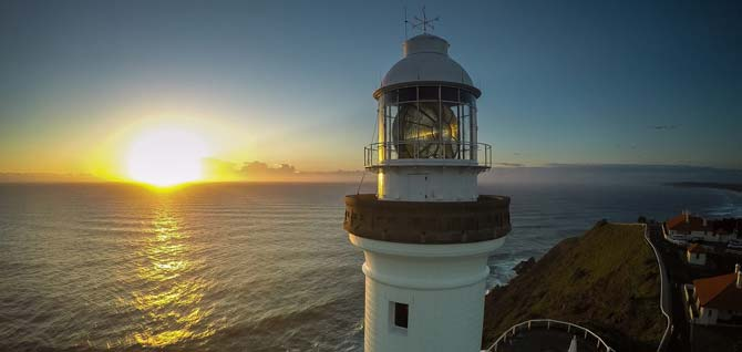 Byron-lighthouse-at-sunset-snapair