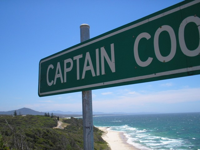 Captain Cooks lookout