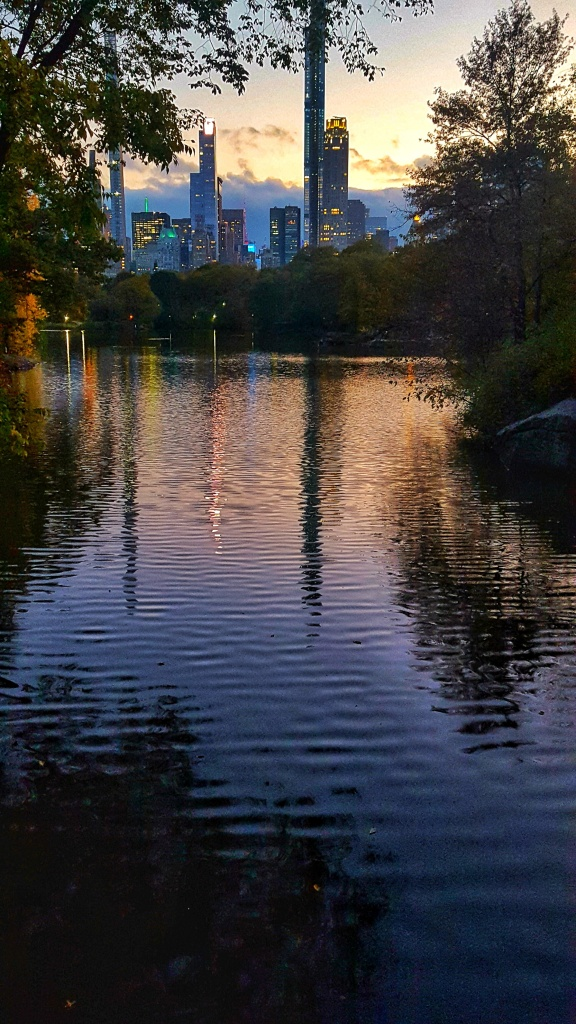 Twilight, The Lake, Central Park