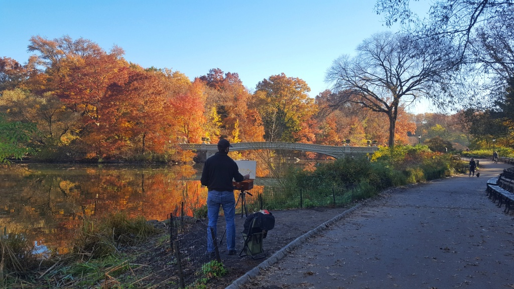Fall colors, Central Park